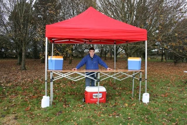 3mx3m Pop Up Gazebo Market Tent Tent Shelter Easy